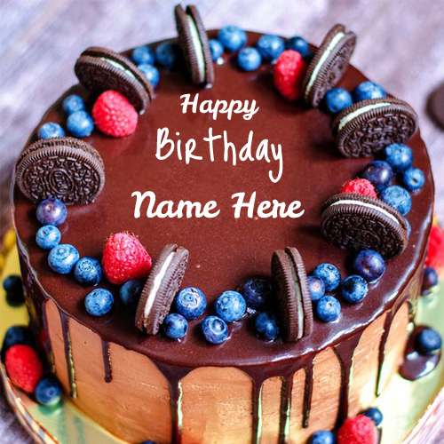 Write Name on Birthday Wishes Cakes Greetings and Wish Cards – Happy Birthday Cake Greetings