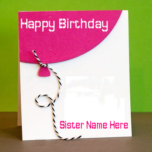 Birthday greeting cards with name editing