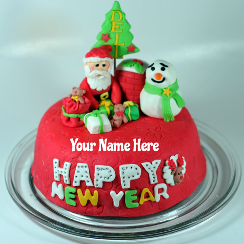 Christmas Wishes Cake Images : Merry Christmas Wishes Cake With Your Name