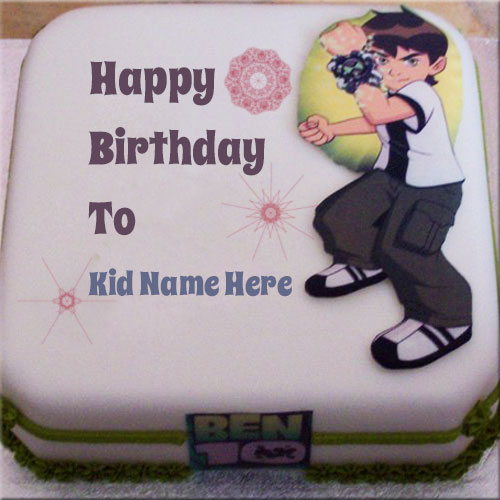 Birthday Cake Images With Name Deep : Print Your Kids Name On Cartoon Birthday Cake Pics Online